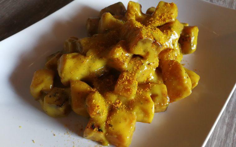 Sedano rapa al curry