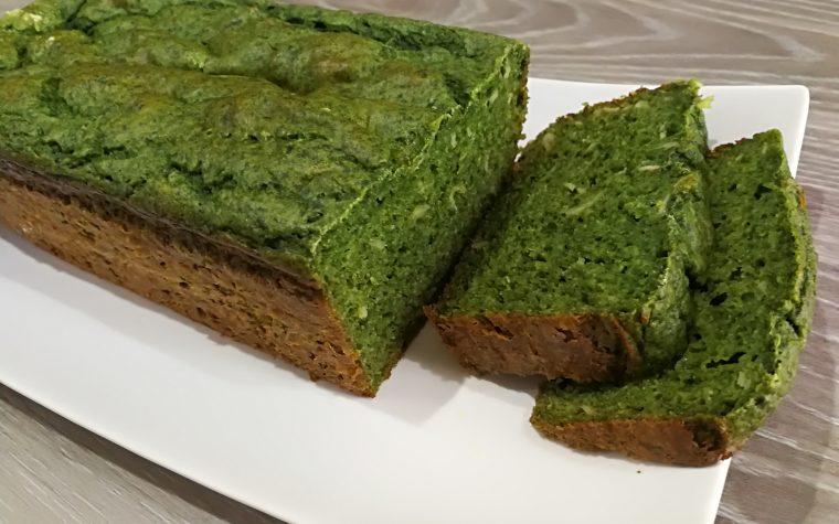 Plumcake salato spinaci e prosciutto cotto *Dukan