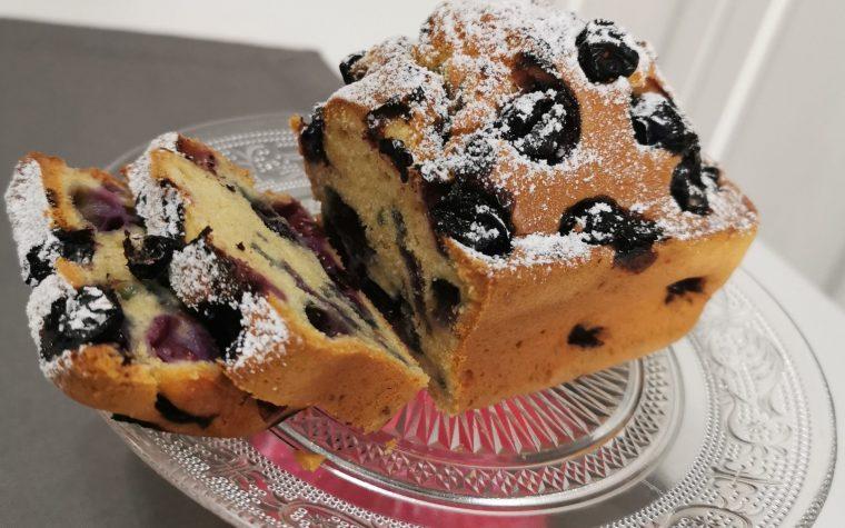 Mini plumcake ai mirtilli, in friggitrice ad aria
