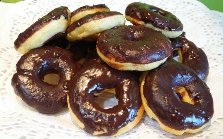 Mini Donut con farina di avena