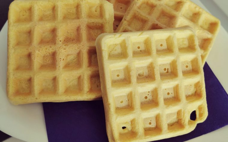 Waffles proteici