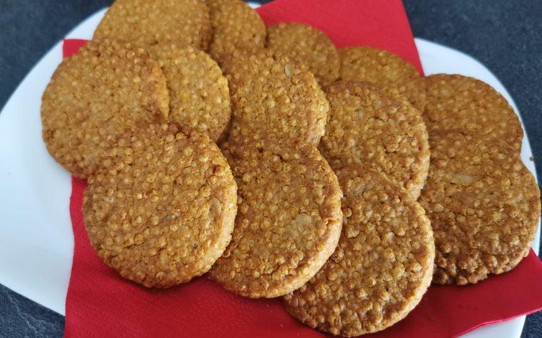 Biscotti croccanti ai cereali