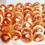Pizzette napoletane al forno  da buffet