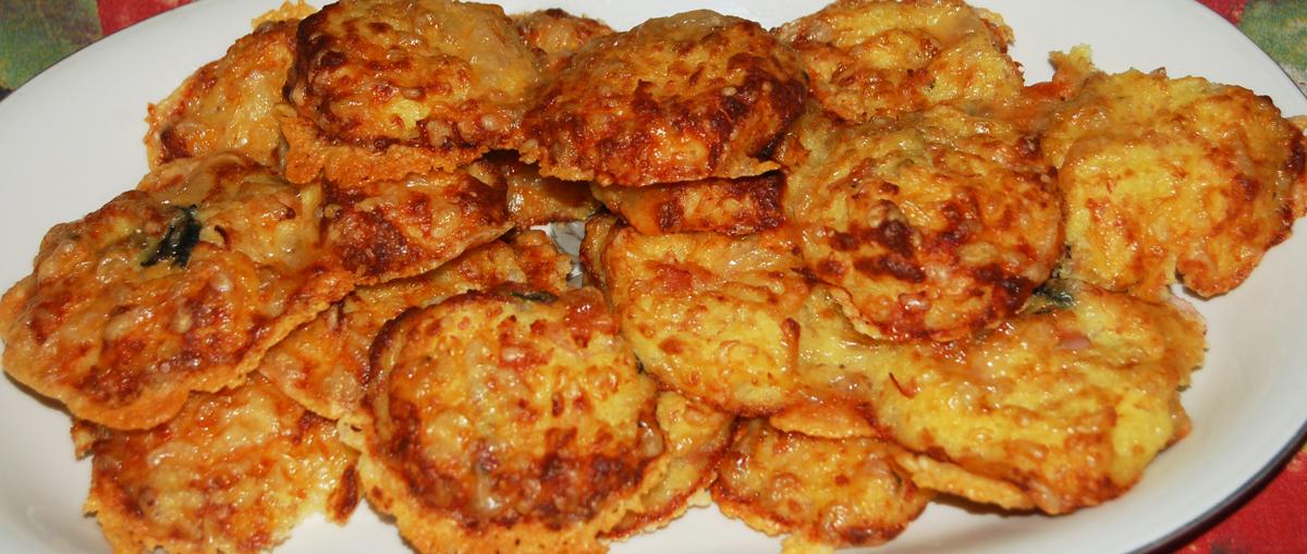 Polpette di patate con emmental
