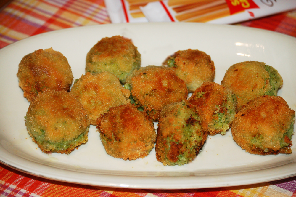 Polpette di broccoletti e patate