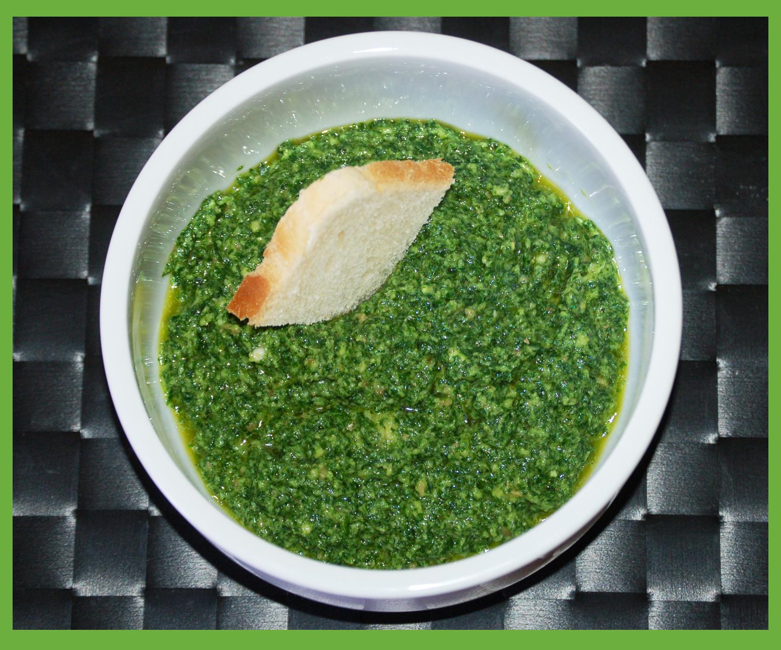 Salsa verde fatta in casa