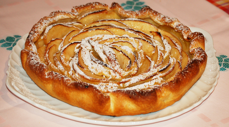 Torta di mele con pasta sfoglia ricetta