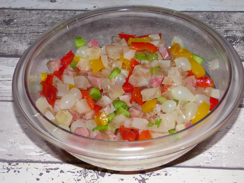 Ricetta nervetti all'insalata