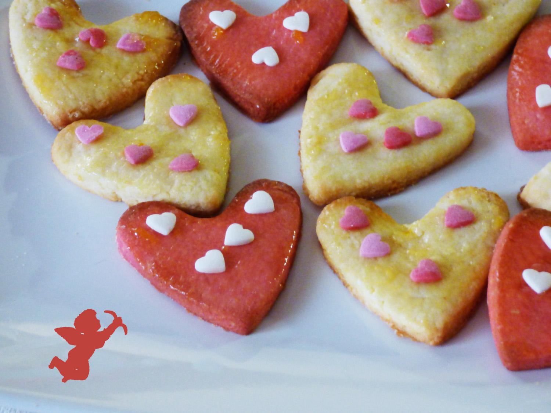 Biscotti A Cuore Per San Valentino A Tavola Con Elvezia
