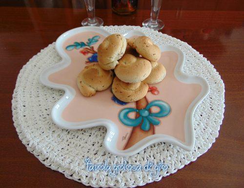 Biscotti di San Martino siciliani morbidi