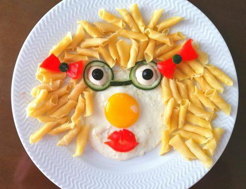 """""""Riccioli d'oro"""" (piatto decorativo per bambini)"""