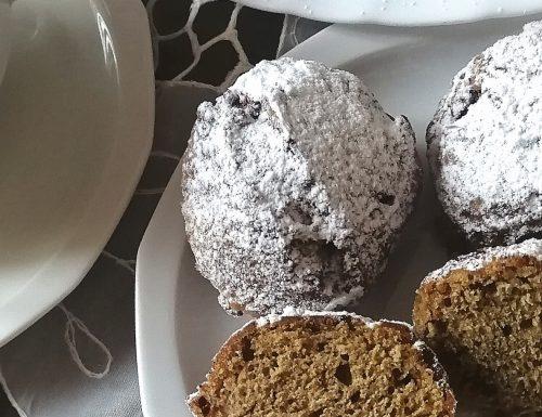 Zeppoline dolci panna e caffè