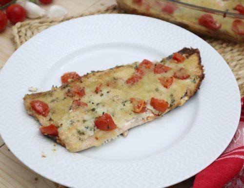 filetti di trota salmonata al forno