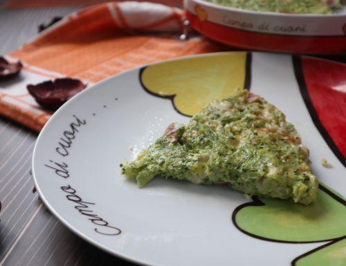Frittata con broccolo al forno
