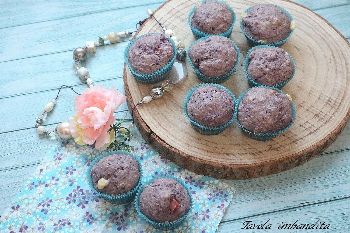 muffin salati al cavolo viola