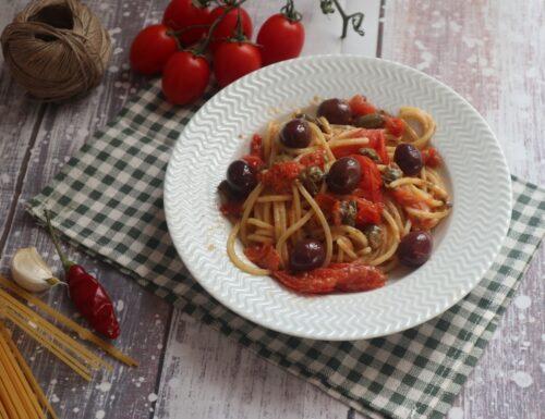 Spaghetti alla calabrese saporiti