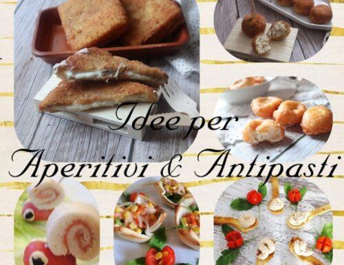 Idee per aperitivi e antipasti