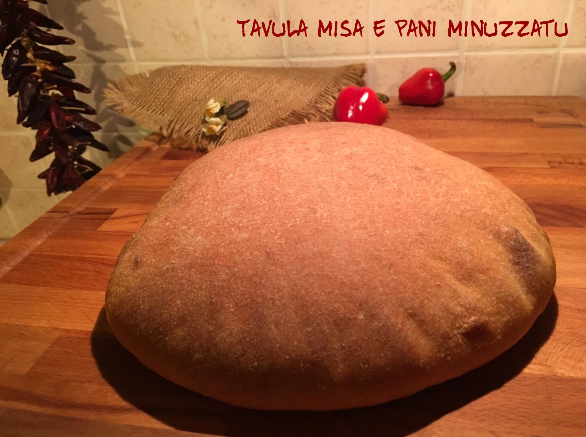 Vastedda di pane (Lievito madre)