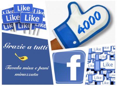 4000 Like Grazie a tutti