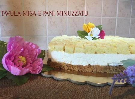 Cheese cake mimosa