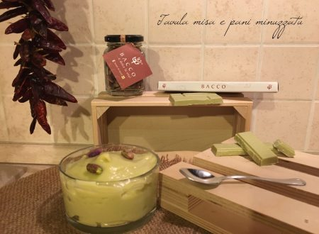 Crema al cioccolato pistacchiosa