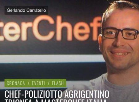 CHEF POLIZIOTTO AGRIGENTINO TRIONFA A MASTERCHEF  -TELEACRAS
