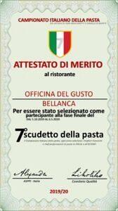 """Campionato italiano della pasta: selezionato il ristorante """"Officina del gusto"""""""