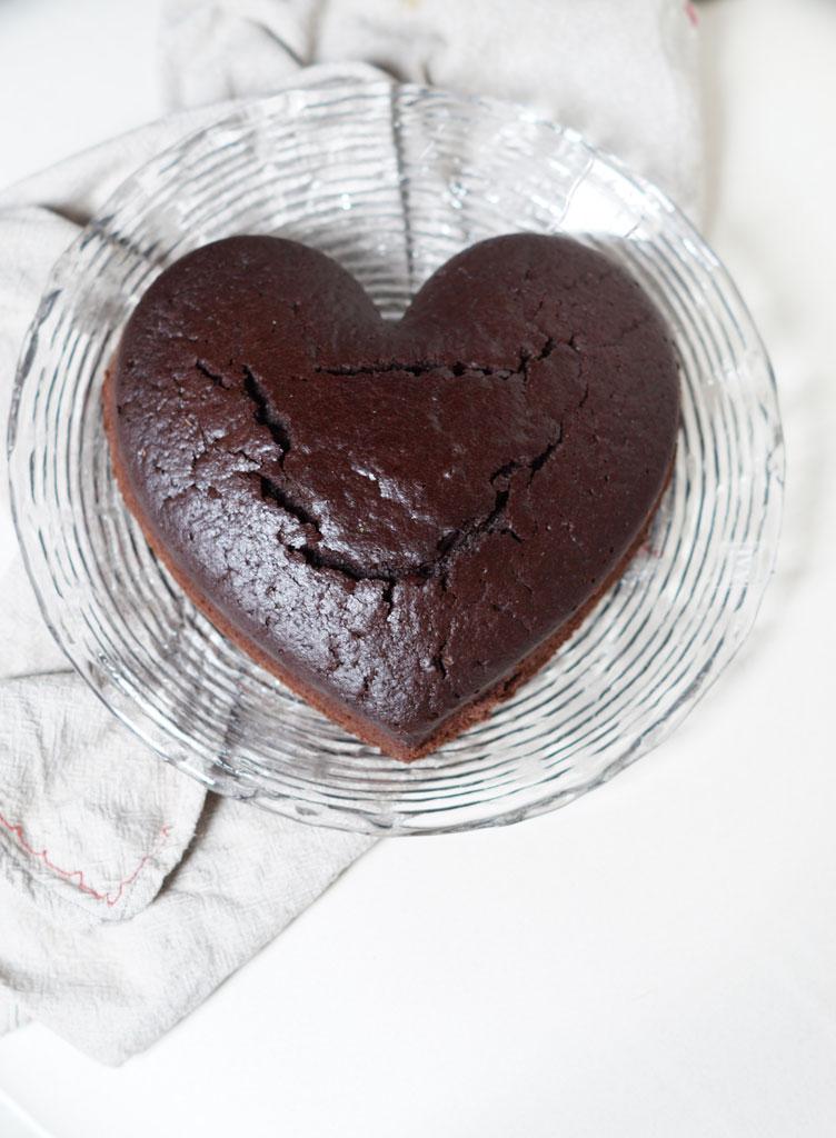 Torta vegana al cacao