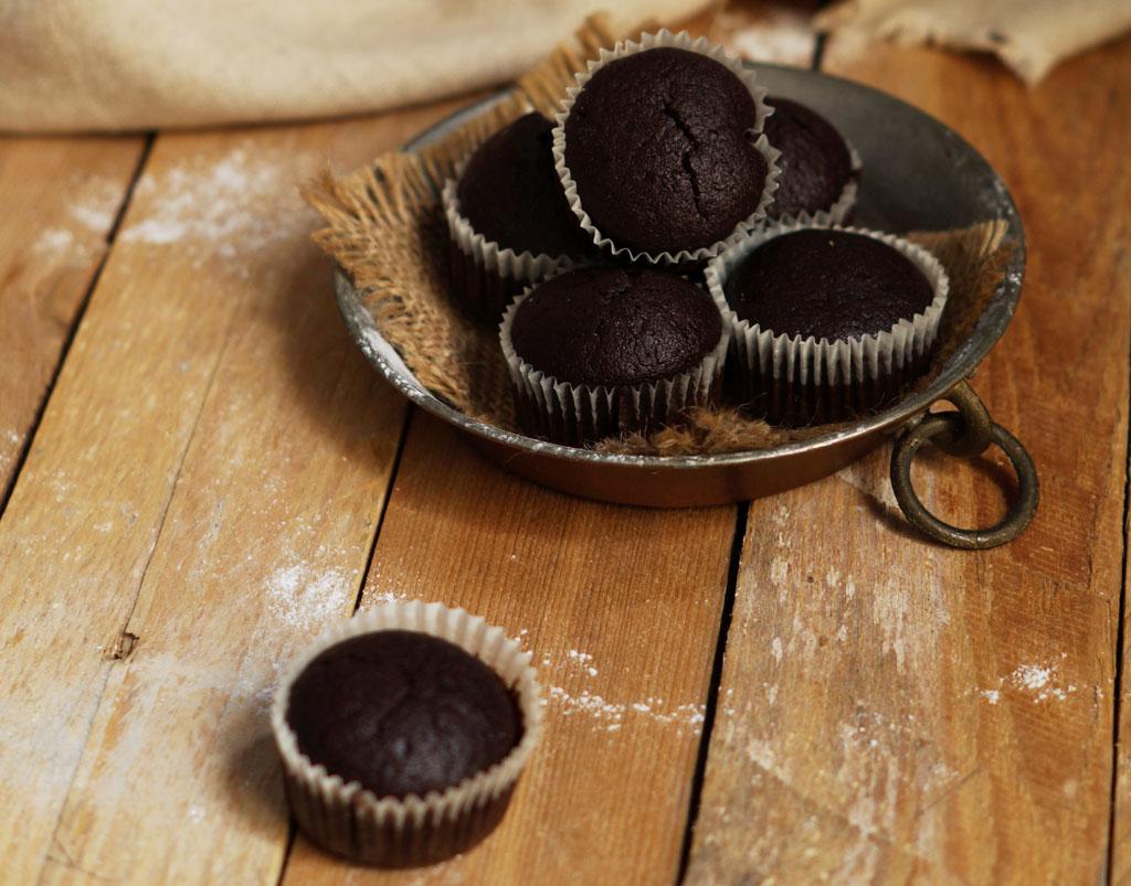 Muffin vegan al cacao