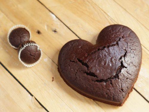 Muffin o torta Vegan al cacao (senza latte e uova)