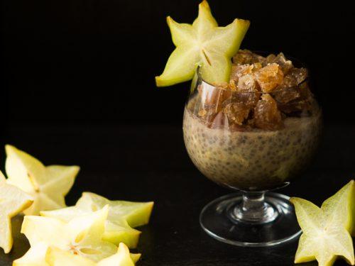 Chia pudding al marron glacé