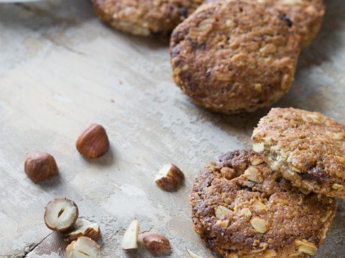 Biscotti con fiocchi di avena vegan