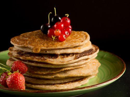 Pancake vegan senza glutine e lectine