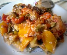 Verdure estive gratinate