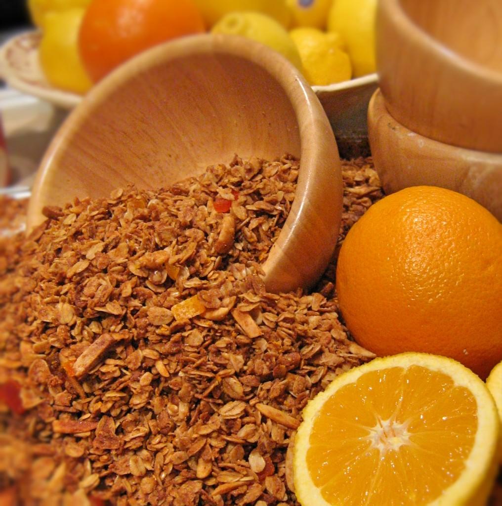 Granola di Florida arancia e papaia