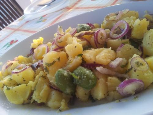 Insalata di patate Ponzese