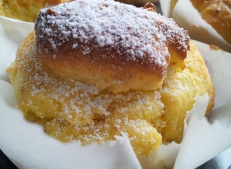 Camomilla, miele e limone muffin senza glutine