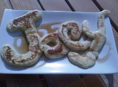 Pancake americani per Piatto Joey