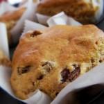 rum e uva passa muffin