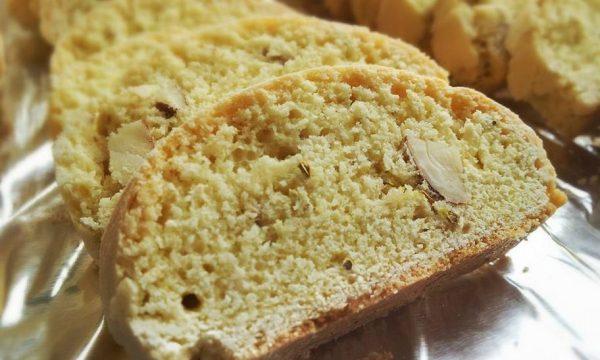 Mandorla e finocchio biscotti