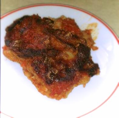 Parmigiana tradizionale di melanzane