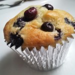 Mirtilli muffin americano