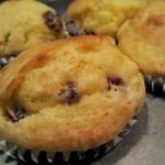 cranberry e aranca muffin senza glutine