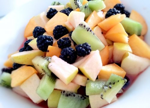 Colazione frutta fresca