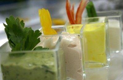 Salse per insalata oppure per snacks