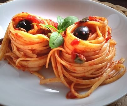 Linguine alla pantesca