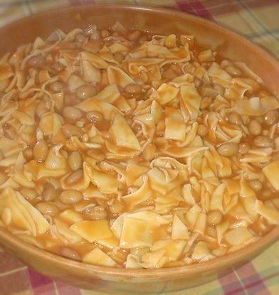 Pasta e fagioli di Anna