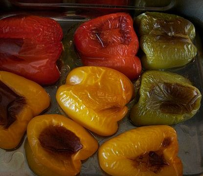 Peperoni arrosto antipasto