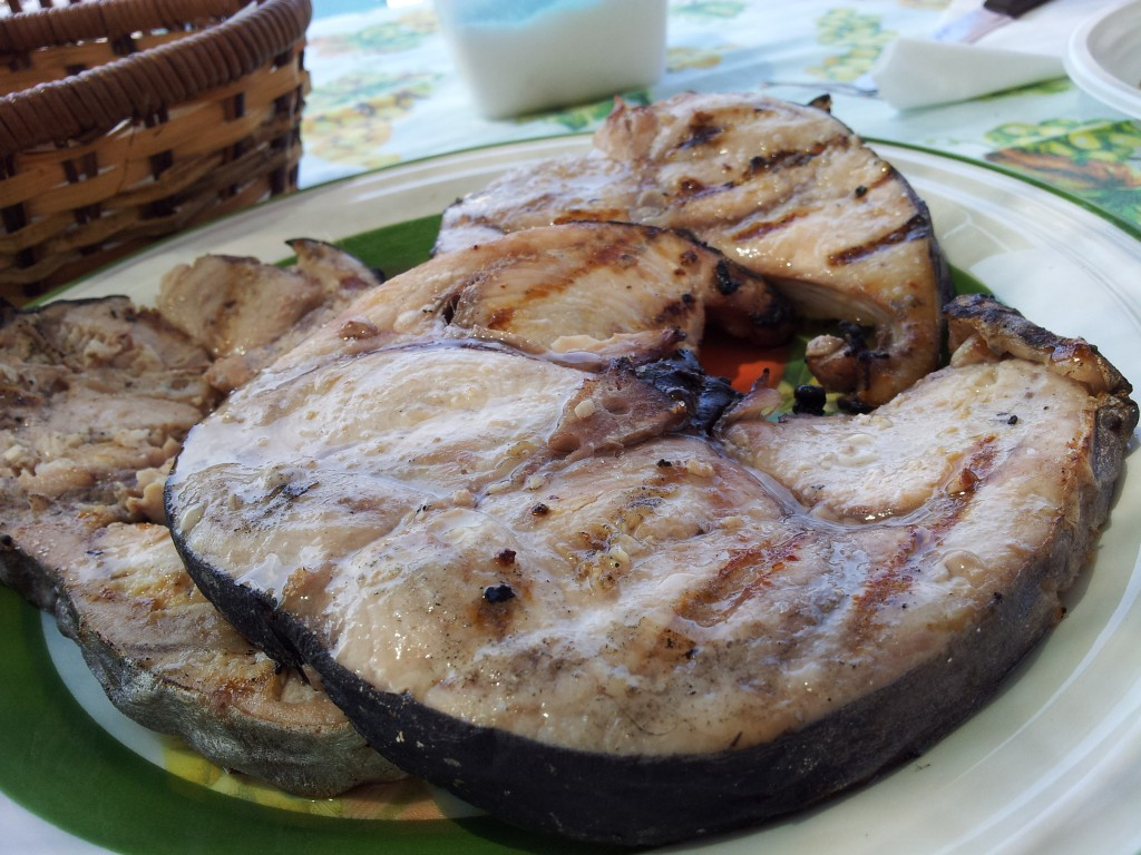bistecca di pesce spada alla griglia