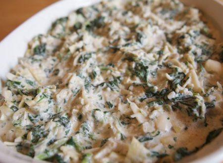Crema di spinaci e carciofi